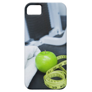 USA, New Jersey, Jersey City, Close up of green iPhone 5 Cover