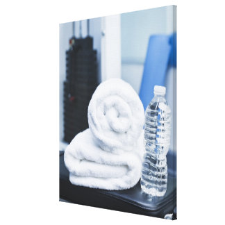 USA, New Jersey, Jersey City, Close up of towel Canvas Print