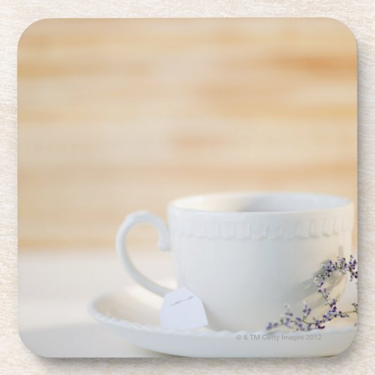 USA, New Jersey, Jersey City, cup and saucer Coaster