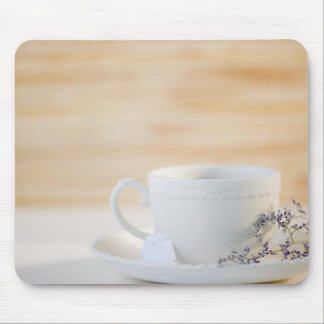 USA, New Jersey, Jersey City, cup and saucer Mouse Pads