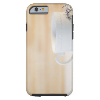 USA, New Jersey, Jersey City, cup and saucer Tough iPhone 6 Case