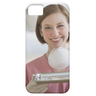 USA, New Jersey, Jersey City, dental assistant iPhone 5 Cover
