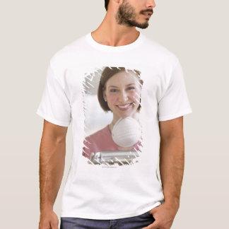 USA, New Jersey, Jersey City, dental assistant T-Shirt