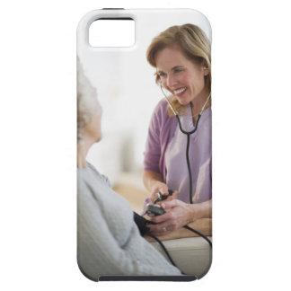 USA, New Jersey, Jersey City, Female nurse iPhone 5 Cases