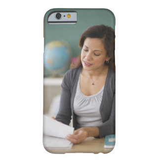 USA, New Jersey, Jersey City, female teacher Barely There iPhone 6 Case