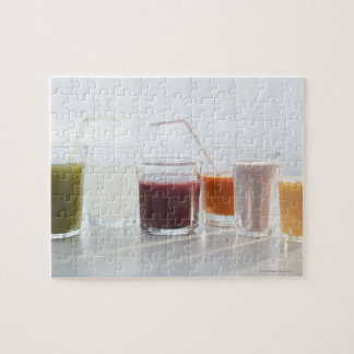 USA, New Jersey, Jersey City, fresh smoothies Jigsaw Puzzle