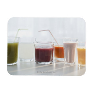USA, New Jersey, Jersey City, fresh smoothies Magnet