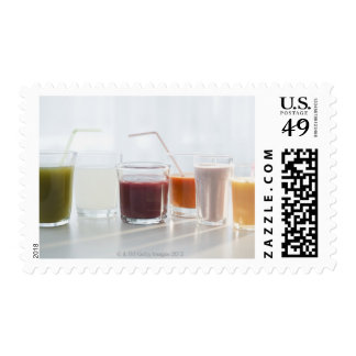 USA, New Jersey, Jersey City, fresh smoothies Postage
