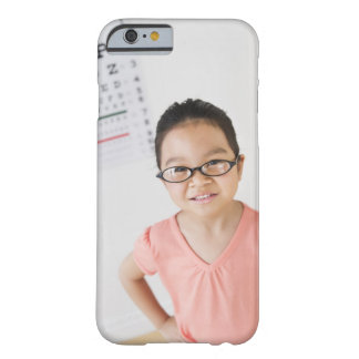 USA, New Jersey, Jersey City, Girl (6-7) at eye Barely There iPhone 6 Case