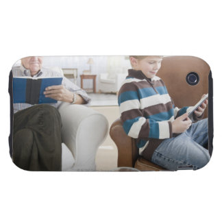 USA, New Jersey, Jersey City, grandfather Tough iPhone 3 Cover
