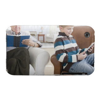 USA, New Jersey, Jersey City, grandfather iPhone 3 Cases