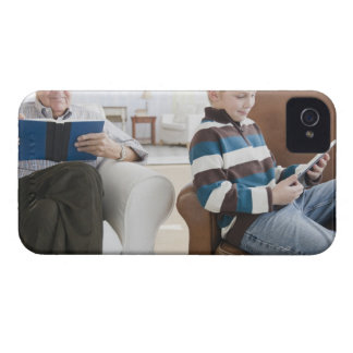 USA, New Jersey, Jersey City, grandfather iPhone 4 Case