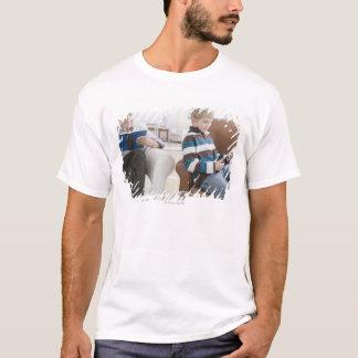 USA, New Jersey, Jersey City, grandfather T-Shirt
