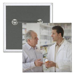 USA New Jersey Jersey City Pharmacist Buttons