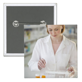 USA New Jersey Jersey City pharmacist Pinback Buttons