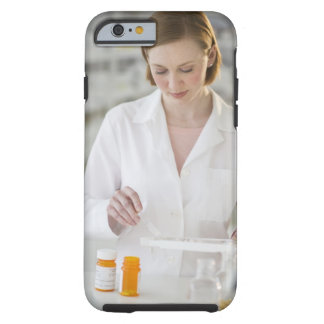 USA, New Jersey, Jersey City, pharmacist Tough iPhone 6 Case