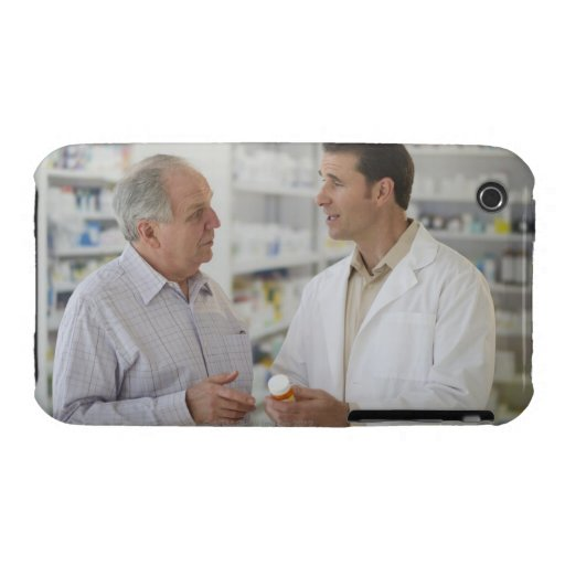 USA, New Jersey, Jersey City, Pharmacist Case-Mate iPhone 3 Case