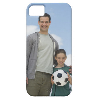 USA, New Jersey, Jersey City, portrait of father iPhone 5 Cases