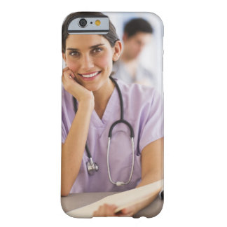 USA, New Jersey, Jersey City, Portrait of female Barely There iPhone 6 Case