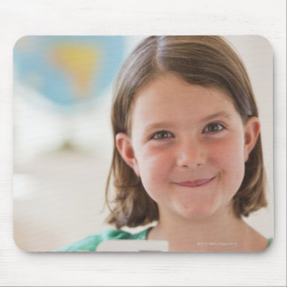 USA, New Jersey, Jersey City, Portrait of girl Mouse Pad