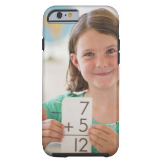 USA, New Jersey, Jersey City, Portrait of girl Tough iPhone 6 Case