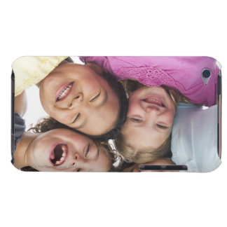 USA, New Jersey, Jersey City, Portrait of girls Barely There iPod Cover