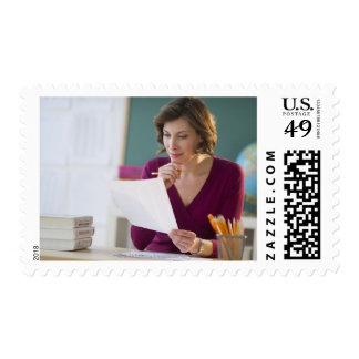 USA, New Jersey, Jersey City, portrait of Stamp