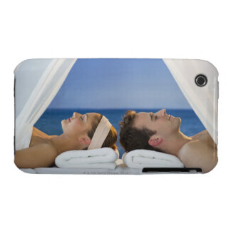 USA, New Jersey, Jersey City, Portrait of young iPhone 3 Cases