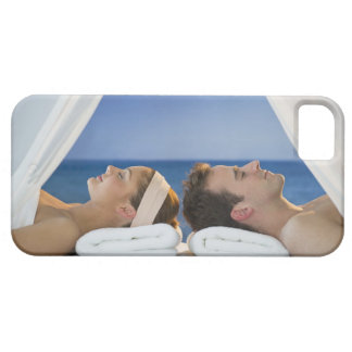 USA, New Jersey, Jersey City, Portrait of young iPhone 5 Cover