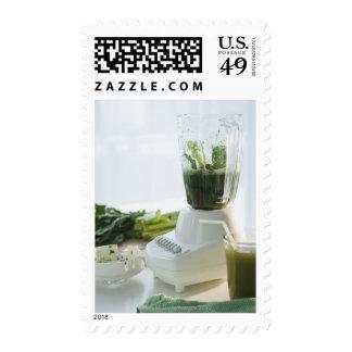 USA, New Jersey, Jersey City, preparation of Stamp