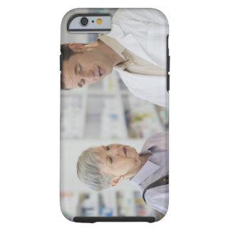 USA, New Jersey, Jersey City, Senior woman Tough iPhone 6 Case