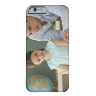 USA, New Jersey, Jersey City, teacher helping Barely There iPhone 6 Case
