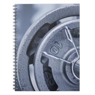 USA, New Jersey, Jersey City, Ten kilos weights Notebook