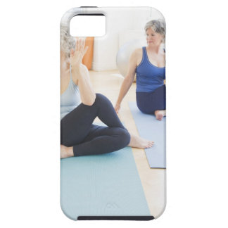USA, New Jersey, Jersey City, Two senior women iPhone 5 Cover