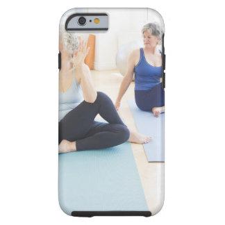 USA, New Jersey, Jersey City, Two senior women Tough iPhone 6 Case
