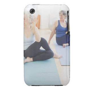 USA, New Jersey, Jersey City, Two senior women iPhone 3 Cover
