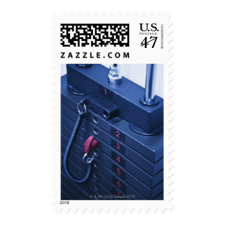USA, New Jersey, Jersey City, Weights on Postage