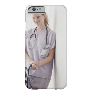USA, New Jersey, Jersey City, Young nurse Barely There iPhone 6 Case