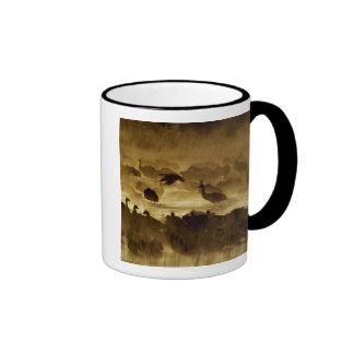 USA, New Mexico, Bosque del Apache National 2 Ringer Mug