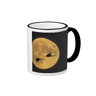 USA, New Mexico, Bosque del Apache National Ringer Coffee Mug