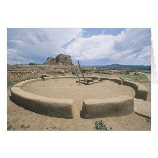 USA, New Mexico, Pecos National Historical Park, Card