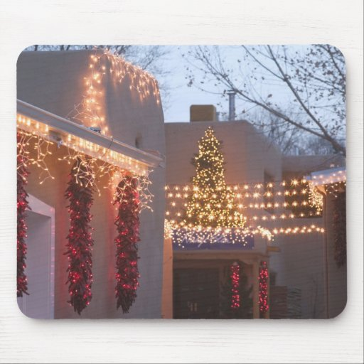 USA, New Mexico, Santa Fe: Canyon Road Gallery Mouse Pads