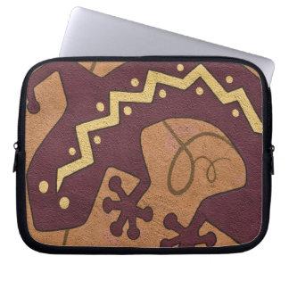 USA, New Mexico, Santa Fe. Close-up section of Laptop Sleeve