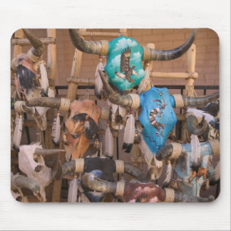 USA, New Mexico, Santa Fe: Downtown Santa Fe, Mousepads