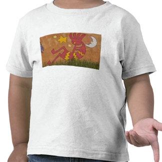 USA, New Mexico, Santa Fe. Wall mural of a Tshirt