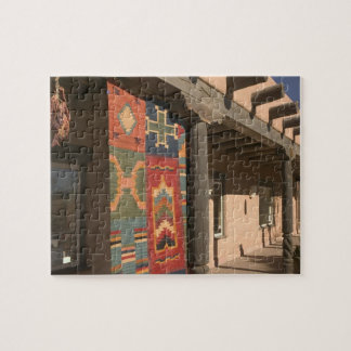 USA, New Mexico, Taos: Navaho Rug Gallery Kit Jigsaw Puzzle