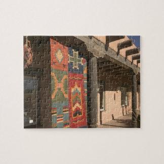 USA, New Mexico, Taos: Navaho Rug Gallery Kit Jigsaw Puzzles