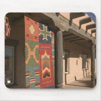 USA, New Mexico, Taos: Navaho Rug Gallery Kit Mouse Pad