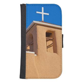 USA, New Mexico. Top Rancho De Taos Galaxy S4 Wallet Case