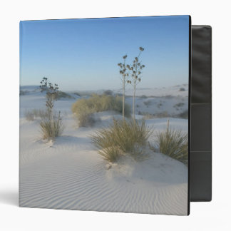 USA, New Mexico, White Sands National 2 3 Ring Binder
